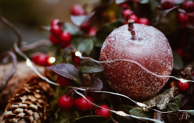 Gesunde Weihnachtsbäckerei